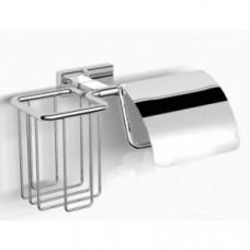 Держатель туалетной бумаги с крышкой и освежителем воздуха Langberger Burano 11041P