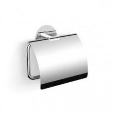 Держатель туалетной бумаги с крышкой на клейкой основе Langberger 30841A