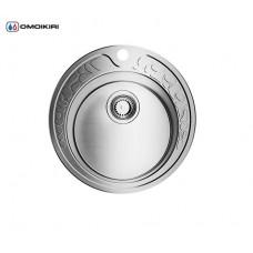 Мойка Kasumigaura 77-IN-R нерж.сталь/нержавеющая сталь 4993002