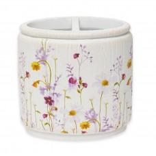 Стакан для зубных щеток Croscill Pressed Flowers 6A0-002O0-9928/990