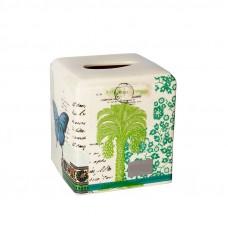 Бокс для салфеток (салфетница) Croscill Living Butterfly Palm 6A0-006O0-9087