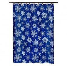 Шторка для ванной Carnation Home Fashions Snow Flake FSC-SNO
