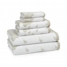 Полотенце для ног (банный коврик) 51х86 Kassatex Roma Taupe ROM-175-T