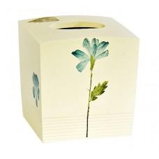 Бокс для салфеток (салфетница) Croscill Living Spa Leaf 6A0-006O0-6075