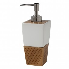Дозатор для жидкого мыла Creative Bath Spa Bamboo SBM59BR
