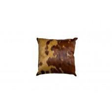 Подушка меховая коричневая
