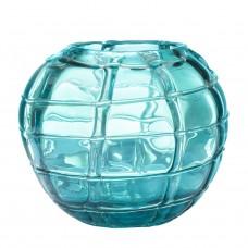 Ваза стеклянная (синяя) HJ360-18-H30