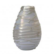 Ваза стеклянная (белая) HJ6040-35-G64