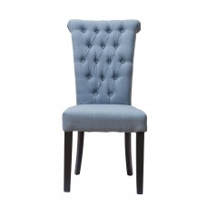 Стул серо-голубой лён для гостиной PJC597-J62