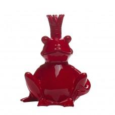 Статуэтка «Лягушка-Король» (красная) D2318красная