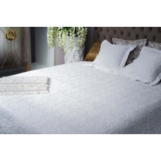 Покрывало на двуспальную кровать 240х260 белое Gold 16AMR-GOLD PK2.01-WH