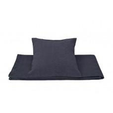 Наволочка декоративная 50х50 тёмно-синяя Natalie 16AMR-NATALIE N.DBL