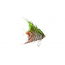 Статуэтка «Рыба» зелено-красная F6902