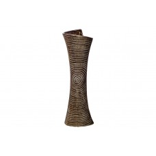 Ваза керамическая золотая 18H7854S-4