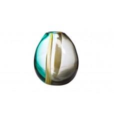 Ваза стеклянная желто-зеленая HJ4127-22-N95