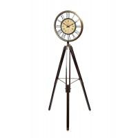 Часы напольные круглые на треноге IK46548