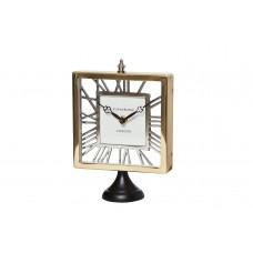 Часы настольные прямоугольные на подставке IK50781