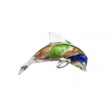 Статуэтка «Дельфин» сине-зеленый F6640