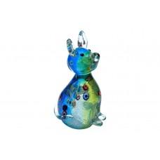 Статуэтка «Собака» в подарочной упаковке (салатово-голубая) F5254