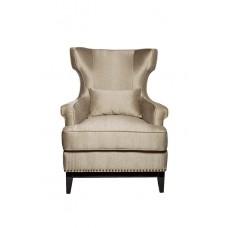 Кресло с подушкой бежевое ZW-63601
