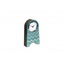 Часы настольные голубые 19-OA-450-CK