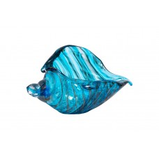 Статуэтка «Ракушка» голубая F7289