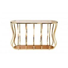 Консоль металлическая золотая 13RXC4034-GOLD