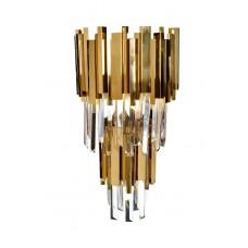 Бра с кристаллами (золото) 62GDM-81008