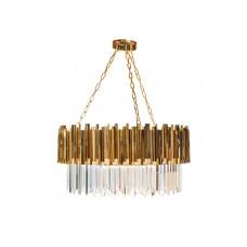 Люстра с кристаллами (золото) 62GDM-81008-800