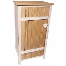 Шкафчик деревянный напольный T142 PC белый прованс