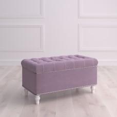 Банкетка с ящиком Терамо Studioakd Puf7 HM26 Светло-фиолетовый
