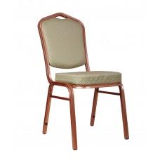 """Банкетный стул """"Хит 25мм"""" - шампань, салатовый ромб 006-30"""