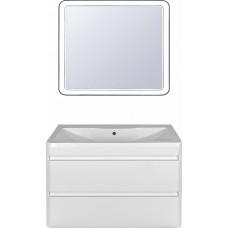 Мебель для ванной Style Line Атлантика 100 Люкс Plus, подвесная, белая