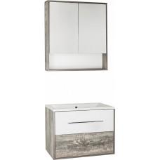 Мебель для ванной Style Line Экзотик 75 Plus подвесная, белая, экзотик