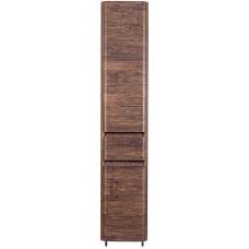Шкаф-пенал Style Line Атлантика 35 Люкс Plus, с бельевой корзиной, старое дерево