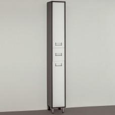 Шкаф-пенал Style Line Эко Стиль W 24 белый, венге