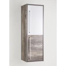 Шкаф-пенал Style Line Экзотик 36 подвесной, белая, экзотик