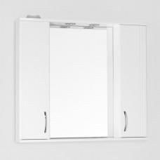 Зеркало-шкаф Style Line Эко Стандарт Панда 90/С белый