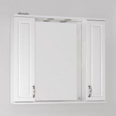 Зеркало-шкаф Style Line Олеандр-2 90/С Люкс, белый