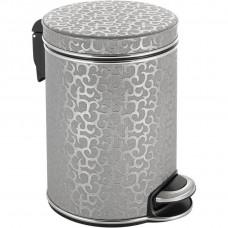 Мусорное ведро Geralis V-FHH-B серебро, хром, 5 л