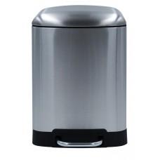 Ведро для мусора Nala 6л хром 2009671