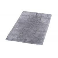 Коврик для ванной комнаты Wall серый 60*90, Aqm 7041307
