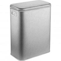 Корзина для белья Geralis PHH-B серебро, хром, стандартная