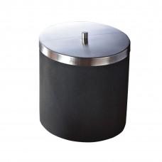 Ведро для мусора Stone черный (5 л) 22010810