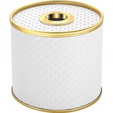 Бокс для салфеток Geralis S-PWG белая, золото