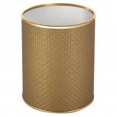 Мусорное ведро Geralis M-PGG-S золото, 7,5 л