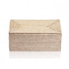 Универсальная коробка 30x15.5x14см, с крышкой, цвет: ротанг светлый Decor Walther Basket UTBMD 0932191