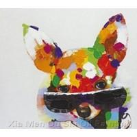 Картина собака в очках Kare Ob55513