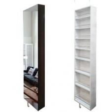 Шкаф поворотный, с 3-мя зеркалами Драйв СП Беленый дуб