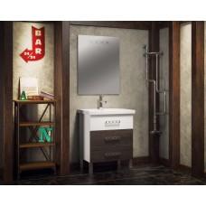 Мебель для ванной напольная Smile Боско 60 Белый/Венге Винтаж